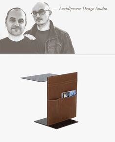 Paolo Lucidi e Luca Pevere graduated and trained in Milan where they designed their first projects together in In Bookends, Milan, Studio, Portrait, Search, Projects, Design, Home Decor, Research