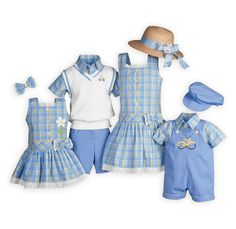 Brother Sister Matching Christmas Outfits | Home » Spring » Casual Wear » Pastel Plaids Outfits