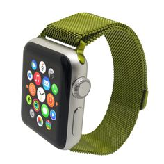 Milanese Loop Band for Apple Watch Summer 19 Apple Band, Apple Watch Bands, Apple Watch Replacement Bands, Rose Gold Apple Watch, Apple Watch Accessories, Mesh Band, Mint Blue, Pastel Blue, Apple Watch Series 2