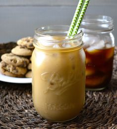 Make a strong batch of cold brew coffee, perfect for grab-and-go iced coffees in the morning.