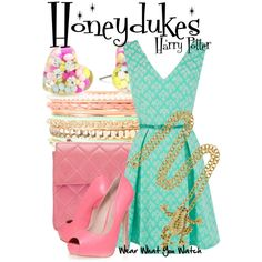 Inspired by Honeydukes Sweetshop from the Harry Potter franchise.