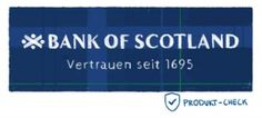 Das Logo der bank of scotland