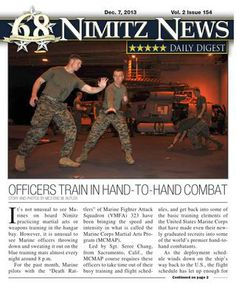 Nimitz News Daily Digest - Dec. 7, 2013