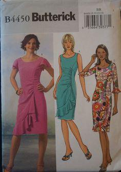 Butterick Sewing Dress Pattern B4450