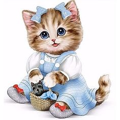Cute Little Kittens, Cats And Kittens, Cute Cats, Animals And Pets, Baby Animals, Cute Animals, Animals Images, Cross Paintings, Cat Paintings