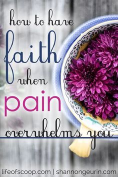 There are moments when pain threatens my faith - when my pain feels bigger than my God. It is in those moments that I must remember three important things. Are you hurting? In pain? Broken? These truths are for you too, dear one. Come rest in God's truth & take comfort in these three important things to remember! ""