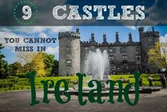 Our guide to 9 castles in Ireland that you shouldn't miss on your visit. Ranging from the most popular castles to some off the beaten path gems that are rarely visited. All the information you need including location, hours, our personal tips, photo/video rules and so much more.