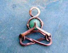 namaste - yoga - yoga jewelry -green aventurine ~ Little Yogi -people-meditation-Lotus-mudra-heart chakra,valentines, lemurian diamond, Bibi