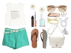 """""""i have walked a million miles in a hundred pairs of shoes"""" by my-heart-is-like-a-stallion ❤ liked on Polyvore featuring Abercrombie & Fitch, MANGO, Witchery, Mulberry, Benefit, Essie, Urban Decay, Kate Spade, Topshop and Color Me"""