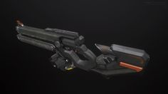 ArtStation - Sci-Fi Assault Rifle, Pawel Ptaszynski
