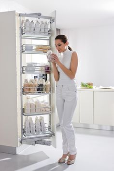 Vibo Kitchen Pantry Pull Out Larder Unit Vibo Storage