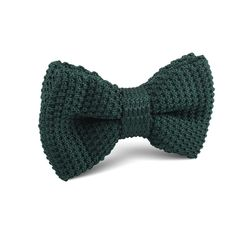 Dark Green Knitted Bow Tie |   Men's Suit Knitted Bow Tie for Men | Mens Wedding Knit Bow Tie Normal Knits Bow Tie Width Handmade Gentlemen Accessories for Guys | Buy Knitted Bow Tie Online Shop Australia | Knitted Bow Tie Men's Fashions | OTAA