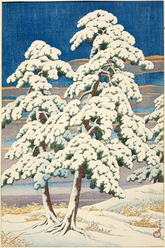View and purchase art by Kawase Hasui and other Japanese artists. Extensive online gallery includes hundreds of fine prints. Japanese etchings, wood block, silkscreen, stencil from famous artists. Landscape Prints, Landscape Art, Japanese Woodcut, Art Asiatique, Japanese Landscape, Asian Landscape, Art Japonais, Snow Scenes, Japanese Painting