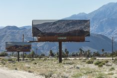 Billboards That Advertise the Surrounding California Landscape by Jennifer Bolande | Colossal