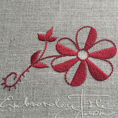Blossoms from Lüganuse embroidery II
