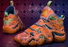 new style 7d64d 46da5 Mardi Gras Stars  adidas 2014 All-Star Sneaker Pack Inspired By Mardi Gras
