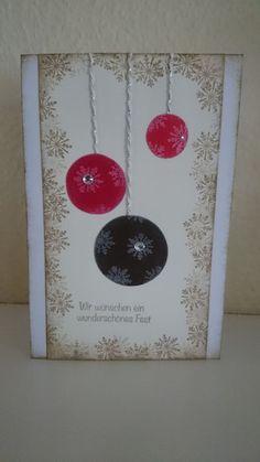 Die Weihnachtskarten sind los....die 3te! - the-creative-things