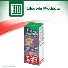 Bell Migraid Headache Relief formulation is composed of Feverfew, Skullcap, Purple butterbur and Magnesium and is specifically designed for anyone who suffers from occasional headache pain. These herbs mount an attack to stop your occasional symptoms to promote natural headache relief. Learn more about Bell Migraid Headache Relief on our website today. http://www.belllifestyleproducts.ca/migraid-headache-relief-15.htm