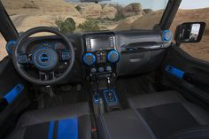 Jeep Wrangler Apache Concept on location in Moab, Utah.