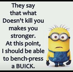 Not so funny! Haha Funny, Funny Jokes, Hilarious, Funny Stuff, Funny Things, Funny Cartoons, Minions Quotes, Minion Humor, Funny Minion