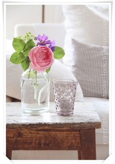 Shabby Look: Fully in bloom.