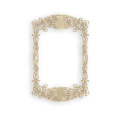 Gold frame 09.png ❤ liked on Polyvore featuring frames, backgrounds, borders, frames & background, gold, picture frame and effect