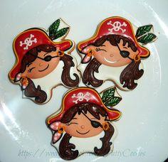 pirate girl  pattyscookies.blogspot.com www.facebook.com/PattyCookies