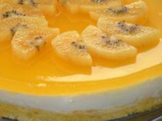Torta helada de naranjas