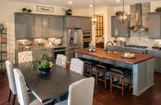 The Mount Vernon kitchen, Drees Homes, Cincinnati and Northern Kentucky