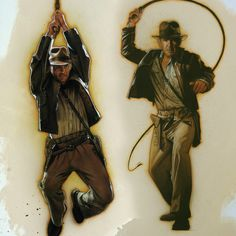 Indiana Jones and the Kingdom of the Crystal Skull (Banner) by Drew Struzan