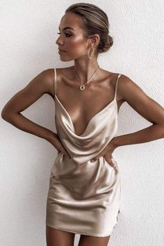 Jacey gold slip dress - Love Storey Boutique Source by juligiugno Dresses Slep Dress, Gold Slip Dress, Elegant Gold Dress, Dress Outfits, Fashion Dresses, Hijab Dress, Woman Fashion, Fashion Pants, Woman Clothing