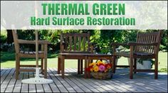 $100 for power washing of a wood deck or carpet & upholstery cleaning in a boat or RV from Thermal Green Hard Surface Restoration (50% off)