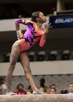 "Gabby Douglas.  ""its a win win situation I give God all the glory and I get all the blessings"""