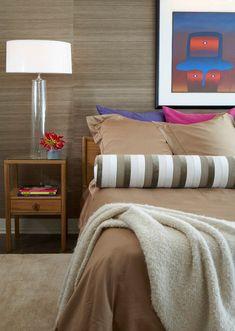 Beautiful Brown Bedroom Wallpaper Interior Decor - Decorstate