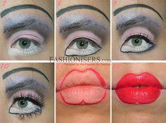 Creepy Doll Makeup Tutorial for Halloween  #halloweenmakeup #makeuptutorials