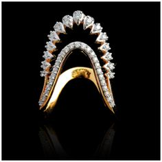 Gold Ring Designs, Gold Bangles Design, Gold Earrings Designs, Gold Jewellery Design, Necklace Designs, Bridal Jewellery, Gold Jewelry Simple, Gold Rings Jewelry, Vanki Designs Jewellery