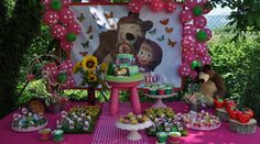 Decoração Masha e o Urso – Inspire sua Festa ®