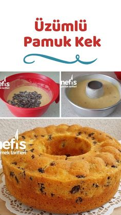 Üzümlü Pamuk Kek – Nefis Yemek Tarifleri – Elizan How to make Raisin Cotton Cake Recipe? Here is an illustrated description of Grape Cotton Cake Recipe in the book of people and photos of the experimenters. Author: Elizan # üzümlüpamukkek the the Homemade Hamburger Patties, Homemade Hamburgers, Vegan Breakfast Recipes, Vegan Recipes Easy, Yummy Recipes, How To Make Raisins, Pasta Cake, Cotton Cake, Best Cake Recipes