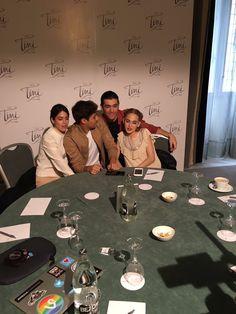 Interviews in Madrid - TINI NEWS