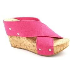 Lucky Brand Miller 2 Wedge Sandals in Pink
