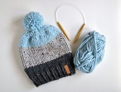 Resultado de imagen para knit hat christmas stripes