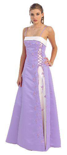 Bridesmaid Spaghetti Straps Two Tone Formal Dress #160 (18, Lilac/Wht) US Fairytailes,http://www.amazon.com/dp/B002ADKOSS/ref=cm_sw_r_pi_dp_qFiOrb1392VSVN1N