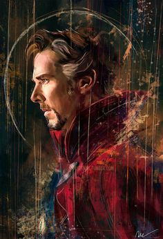 Doctor Strange was amazing! Honestly Benedict Cumberbatch did an amazing performance as Steven Strange>>> Yes he did! No one else could have been Doctor Strange! Marvel Comics, Marvel Fanart, Heros Comics, Marvel Heroes, Poster Marvel, Ms Marvel, Captain Marvel, Marvel Doctor Strange, Doctor Stranger Marvel