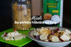 SCD-Müsli Scd Diet, Oatmeal, Grains, Rice, Vegetables, Breakfast, Baby, Food, Coconut Milk