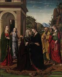 Risultati immagini per giovanni santi pittore