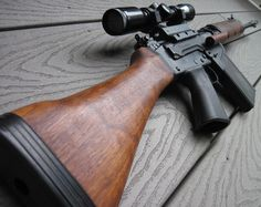FN FAL with walnut harware #fabrique nationale