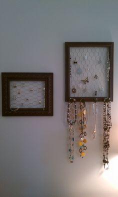 Jewlery Frames I made.