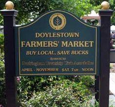 Doylestown Farmers Market presented by the Buckingham Township Civic Association