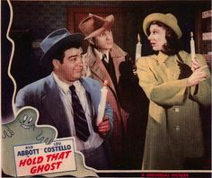 Abbott and Costello, Hold That Ghost