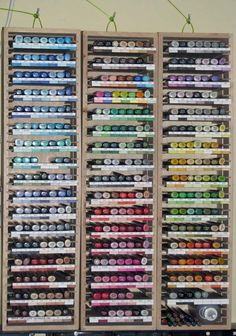 cool way to organize copic markers
